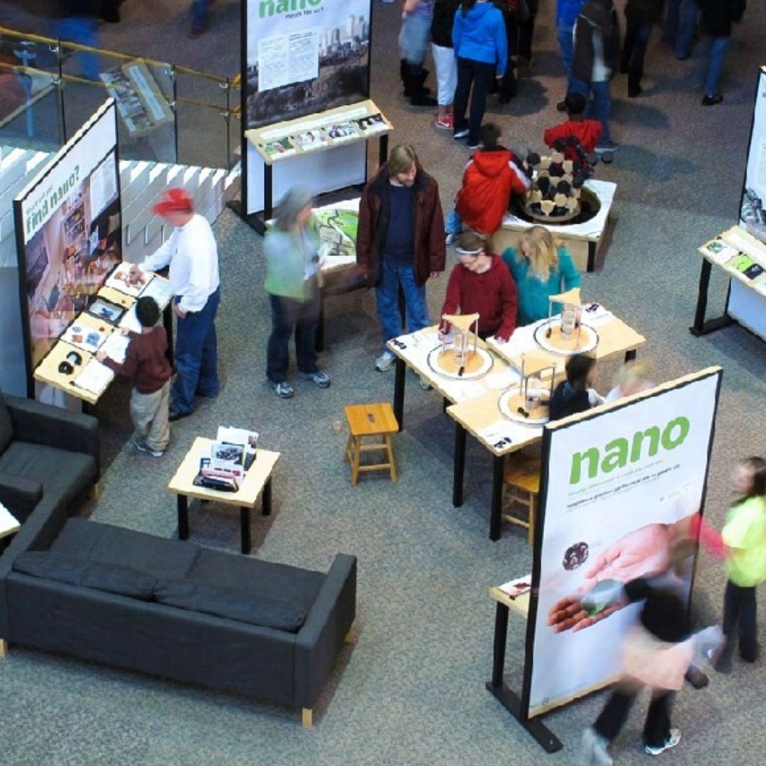 Exhibit Stations with Science Activities