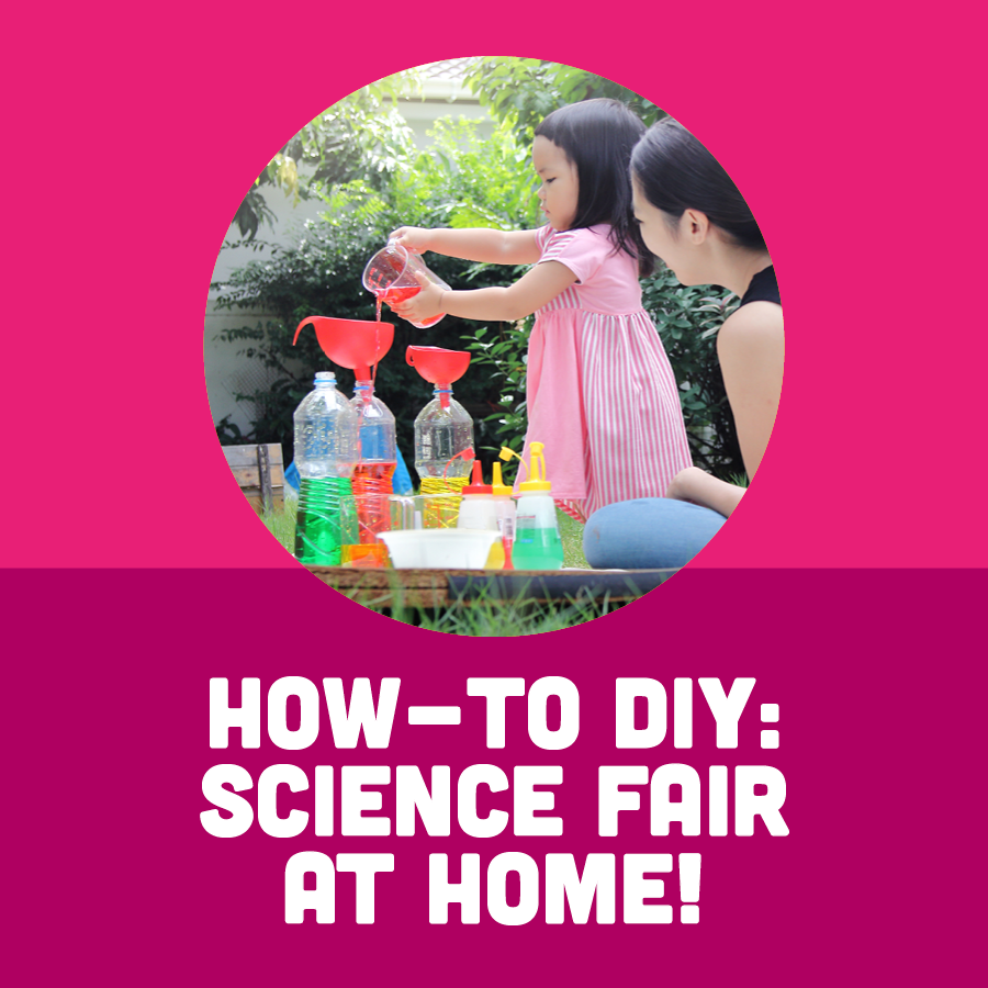 How-To DIY: Science Fair at Home