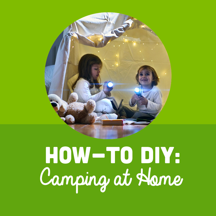 How-To DIY Camping at Home