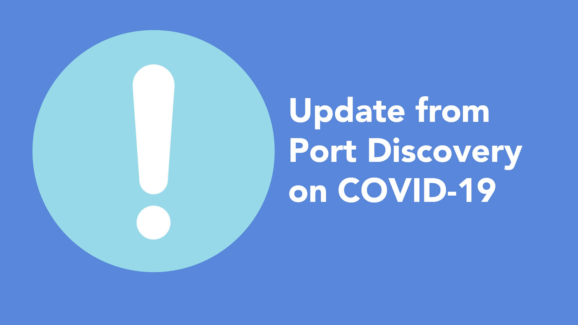 An update from PDCM on Coronavirus
