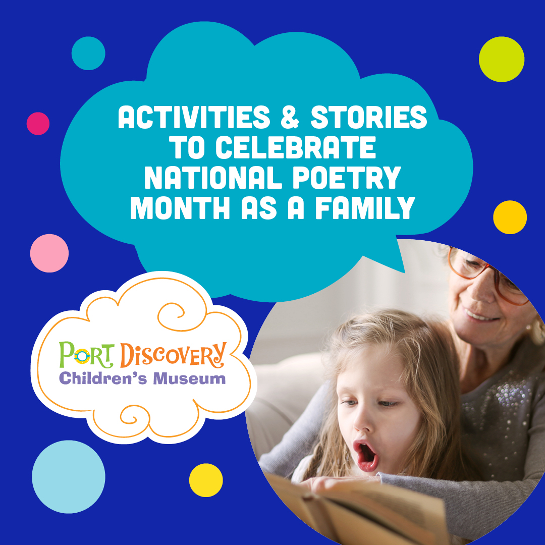 Activities & Stories to Celebrate National Poetry Month As A Family