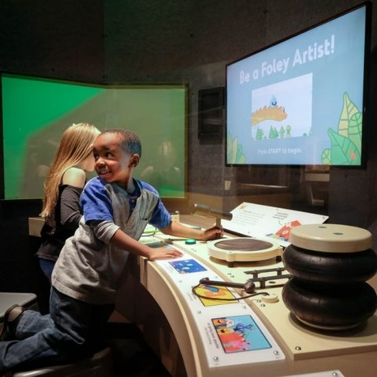 Animationland at Port Discovery