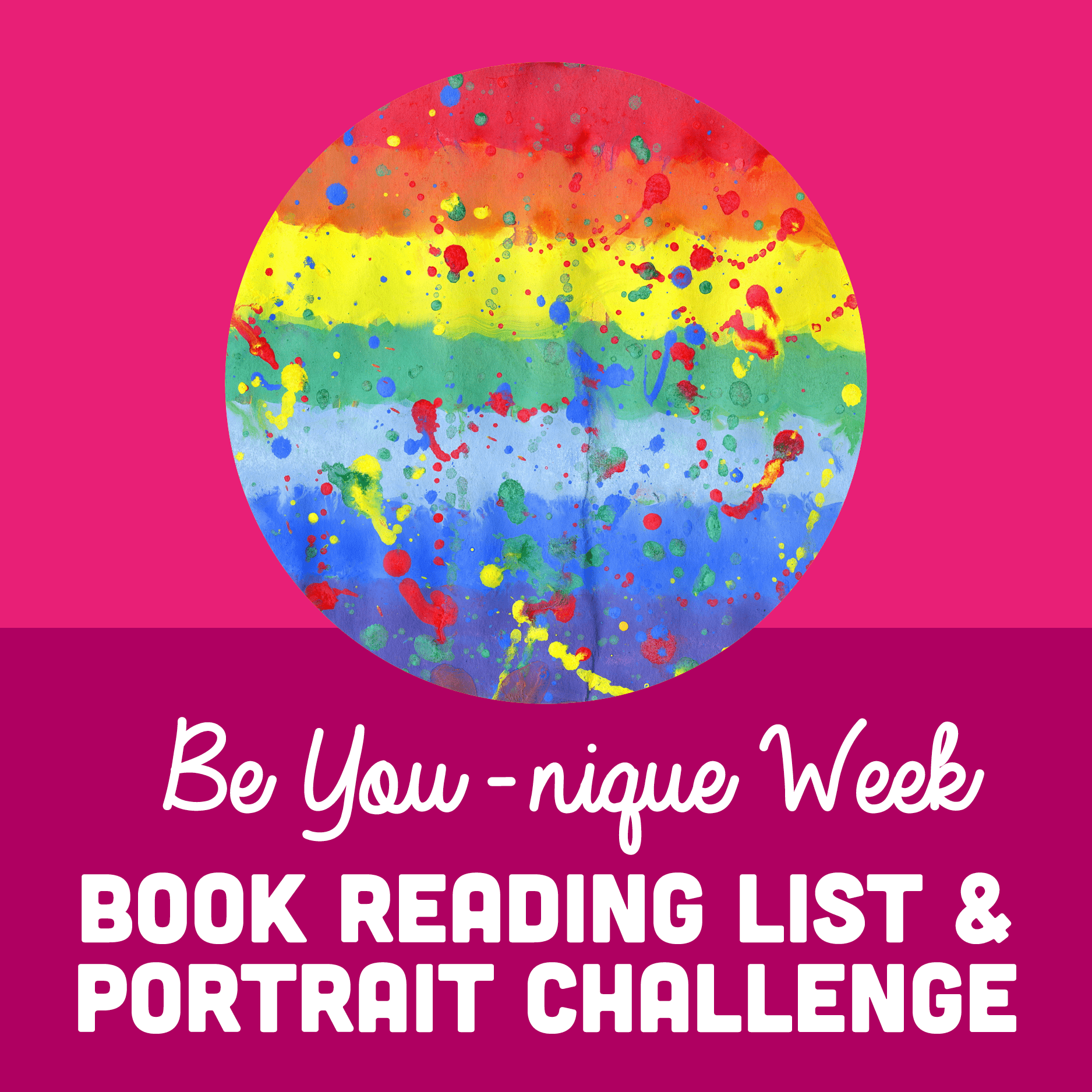 Be Younique Week Book Reading List & Family Portrait Challenge