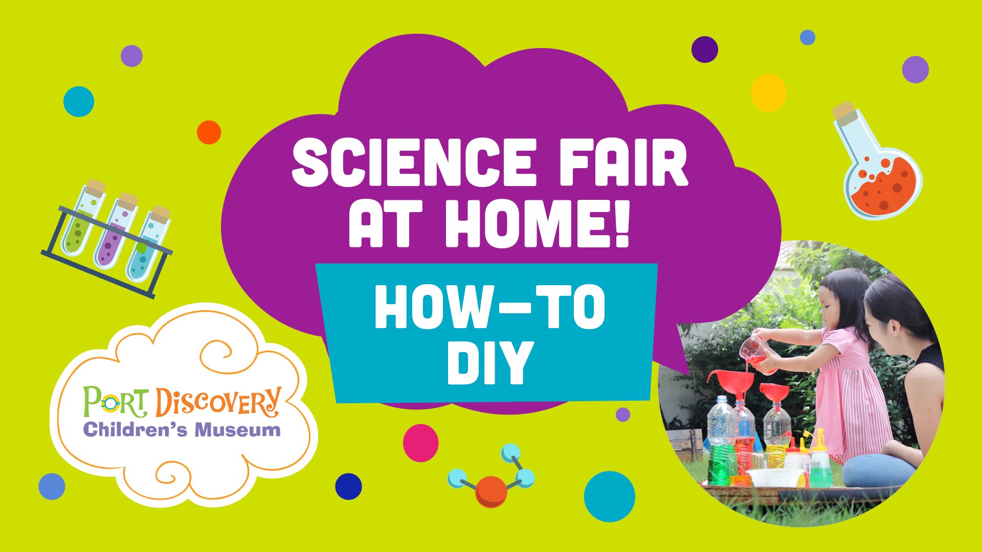 How To DIY: At Home Science Fair