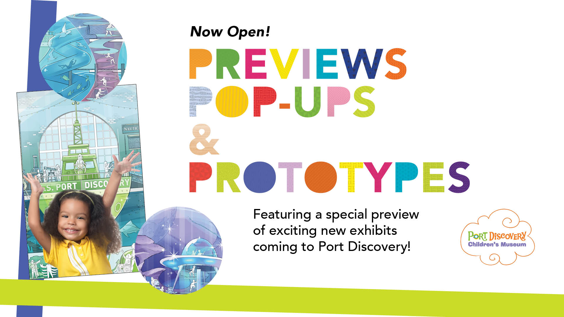 Previews, Pop-Ups and Prototypes Space opens at Port Discovery