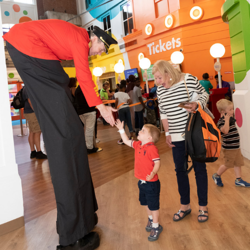 Celebrate Grandparents Day at Port Discovery!
