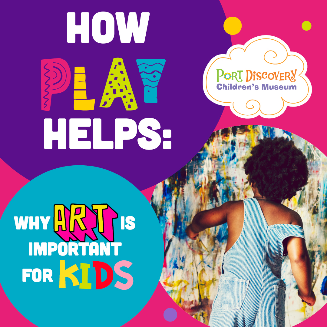 How Play Helps: Why Art Is Important for Kids