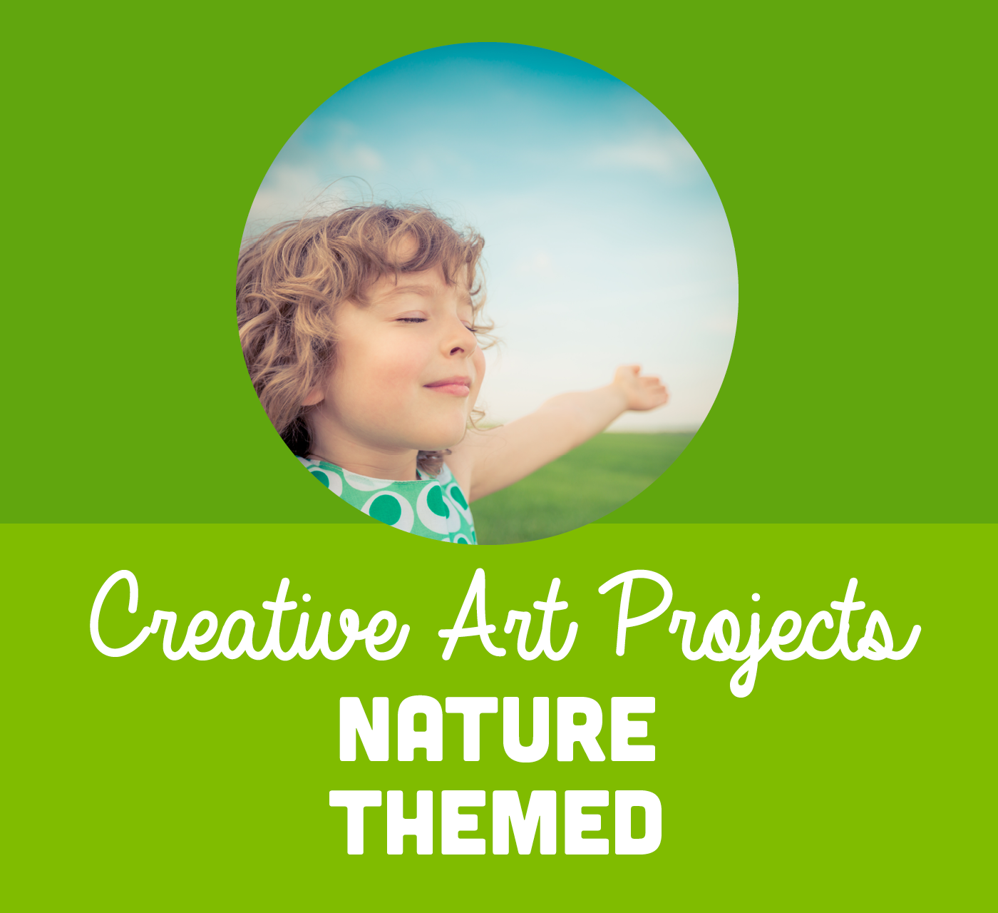 Outdoor Art Activities for Families this Spring