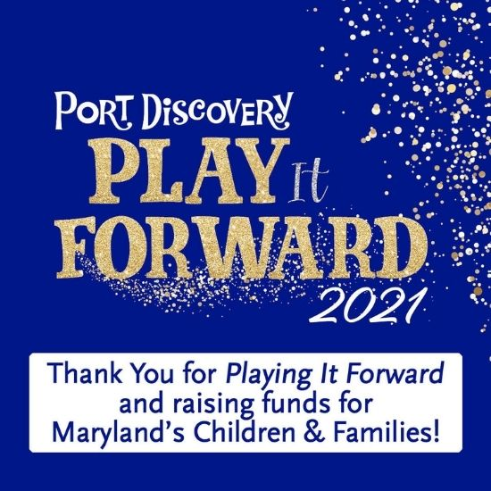 Thank You for Playing It Forward and Raising Funds for Maryland's Children & Famiilies