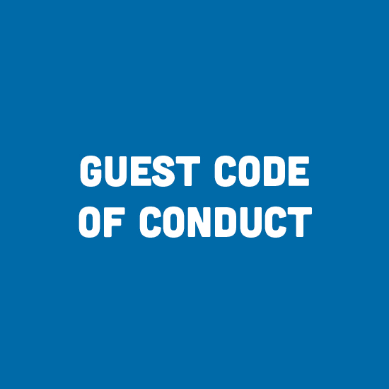 Guest Code of Conduct