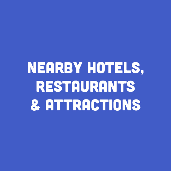 Nearby Hotels, Attractions & Restaurants