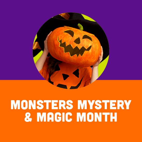 Monsters, Mystery & Magic Month