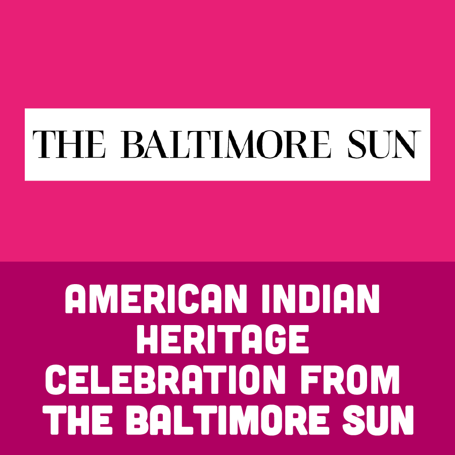 American Indian Heritage Celebration From The Baltimore Sun