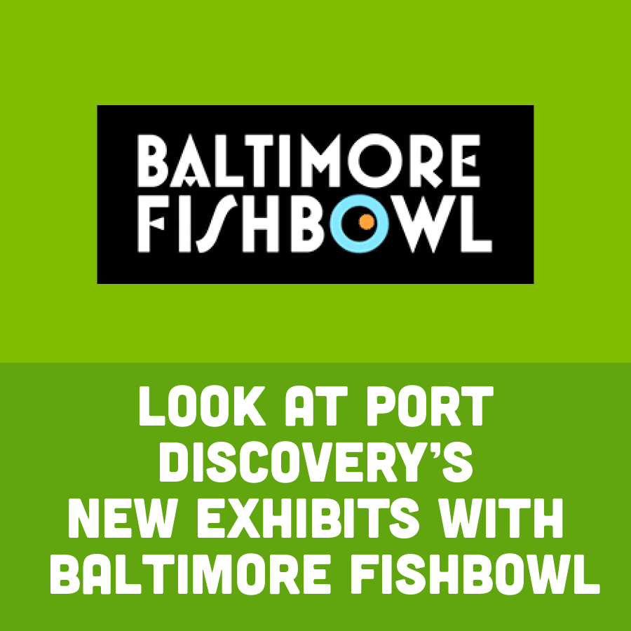 Look at Port Discovery's New Exhibits With Baltimore Fishbowl