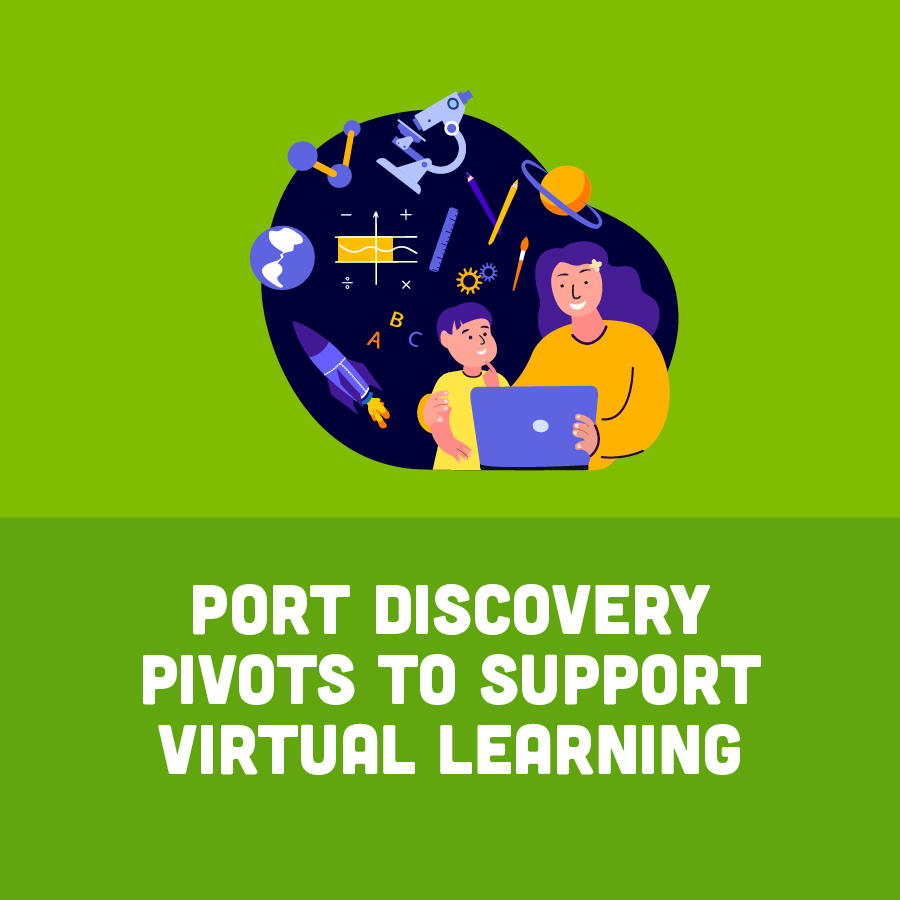Port Discovery Pivots to Virftual Learning