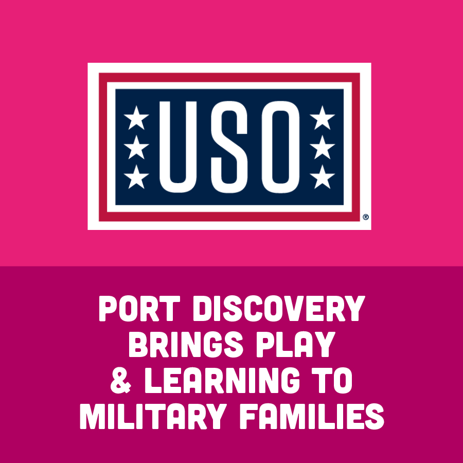 Port Discovery Brings Play & Learning to Military Families