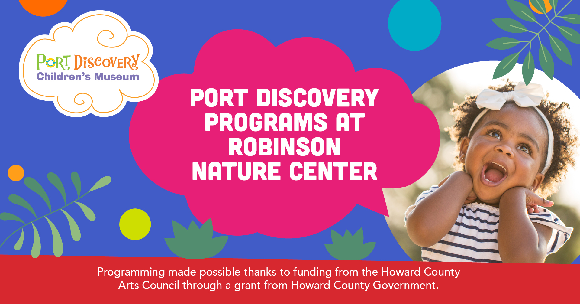 Robinson Nature Center - Spring 2021