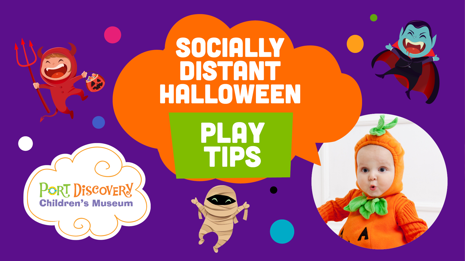 Socially Distant Halloween Tips