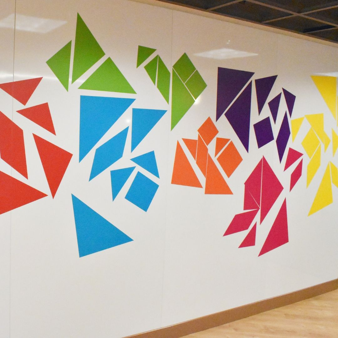 Tangram Wall Exhibit