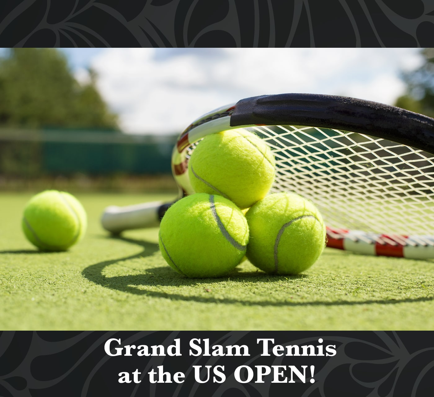 Grand Slam Tennis Raffle Package