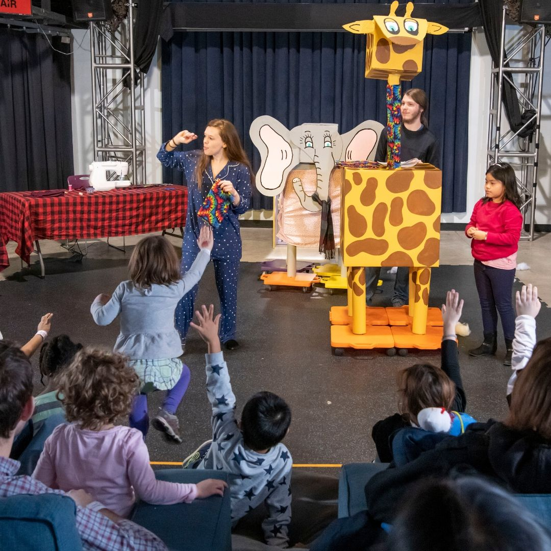 Explore Theater at Home with your Child