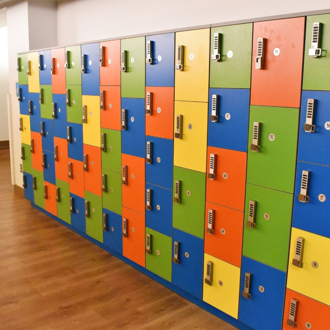 Lunchroom Lockers - free of charge