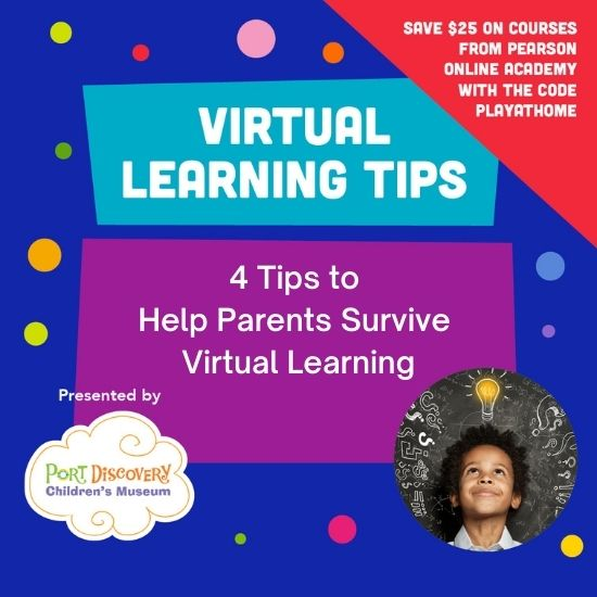Tips to Help Parents Survive Virtual Learning