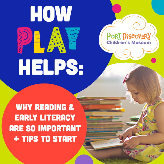 How Play Helps: Early Literacy