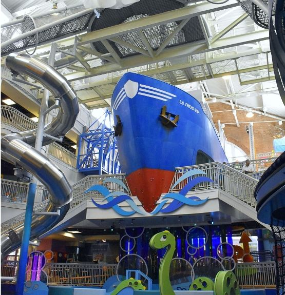 Big New Exhibits at Port Discovery open Friday, June 14th at 12PM!