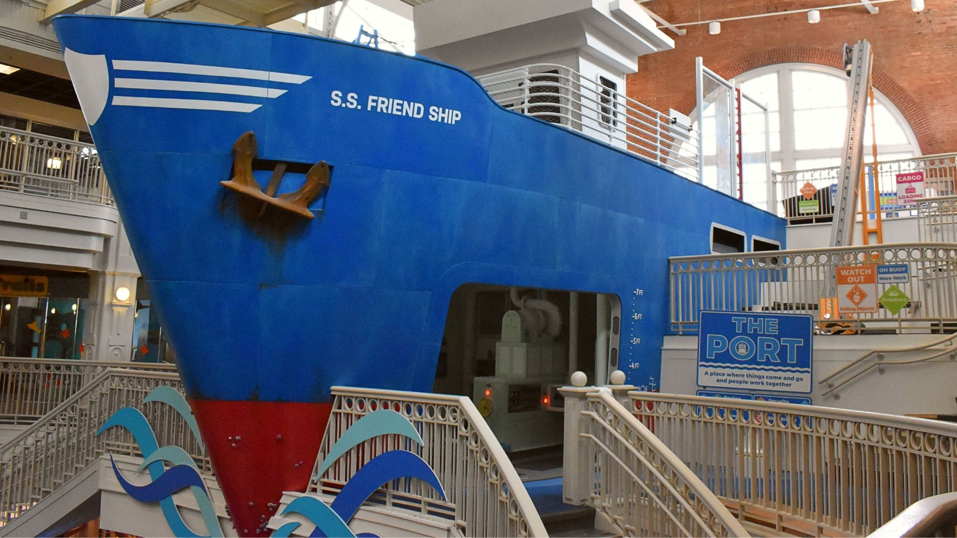 Explore Port Discovery's newest exhibit - The Port!