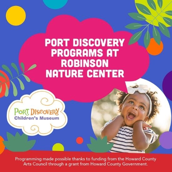 Port Discovery at Robinson Nature Center May 2021