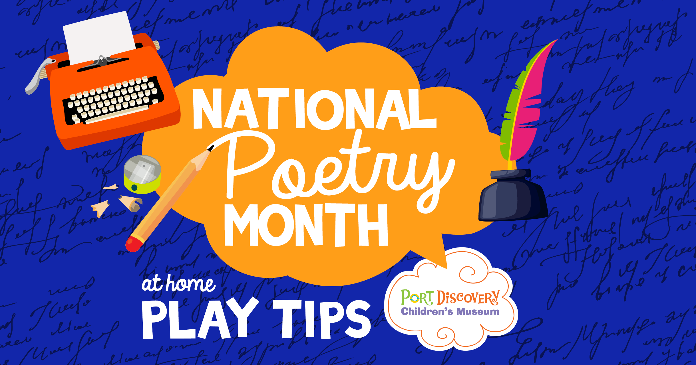 National Poetry Month At Home Play Tips